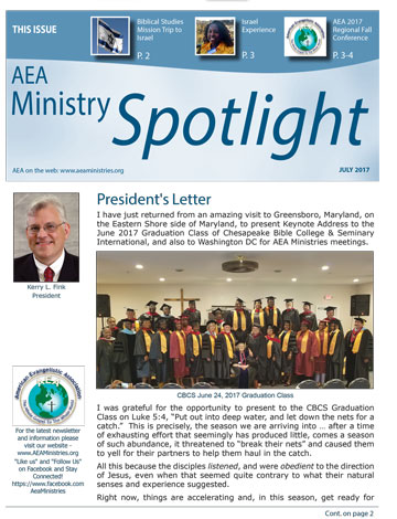 AEA Ministries Spotlight