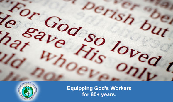 Equipping God's Workers for 60+ Years