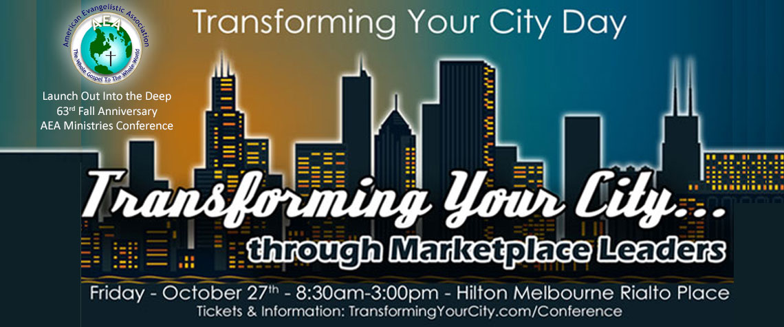 Transforming Your City Day Conference